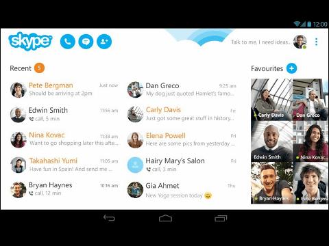 Skypeのチャット機能に「既読」機能追加へ、モバイル版のバッテリー消費改善も