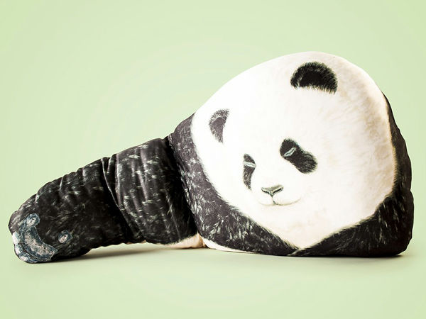 ひとりっきりの夜、クマやパンダに腕枕されながら眠れる枕が登場