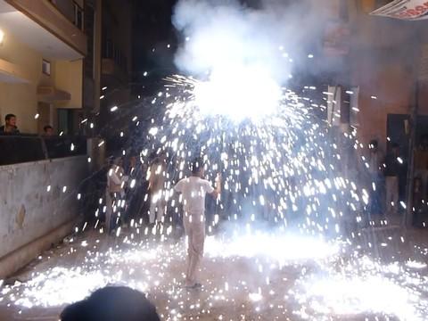 インド花火