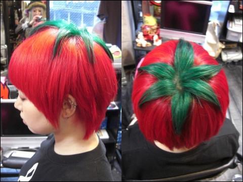あまりに奇抜すぎる日本のヘアスタイル「完熟トマト」などが海を