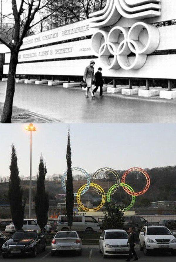 ソチオリンピックが盛り上がってますが、それではここで1980年のモスクワオリンピックと見比べてみましょう