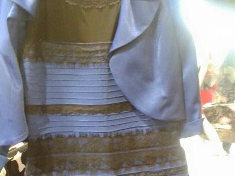 2015年の2月、とあるドレスの色が「白と金」なのか、それとも「青と黒」なのかを巡り、世界のネットを二分する大論争が勃発しました。