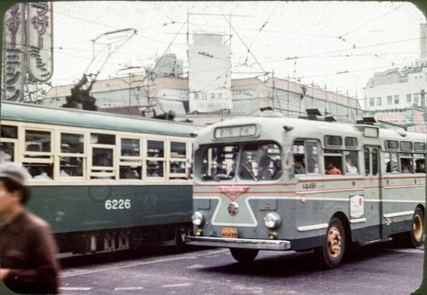 画像】「三丁目の夕日」の世界、1957年(昭和32年)の東京の路上と鉄道 ...