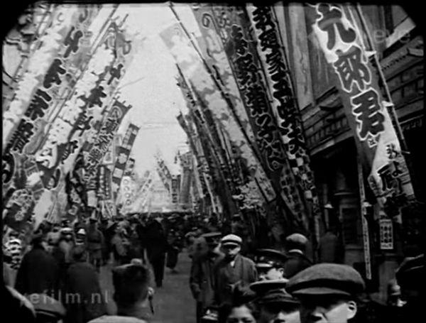 今から100年前の日本、大正2年と4年の東京を撮影した貴重な4分間の映像 ...