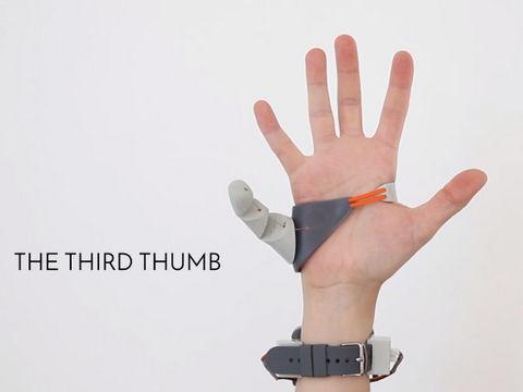 もう1本親指が手に入るとしたら?3Dプリントの「義親指」の開発で、義肢の発想がネクストレベルに | BUZZAP!(バザップ!)