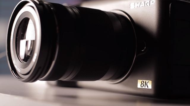 世界初の「格安8Kカメラ」をシャープが発表、しかもマイクロフォーサーズ