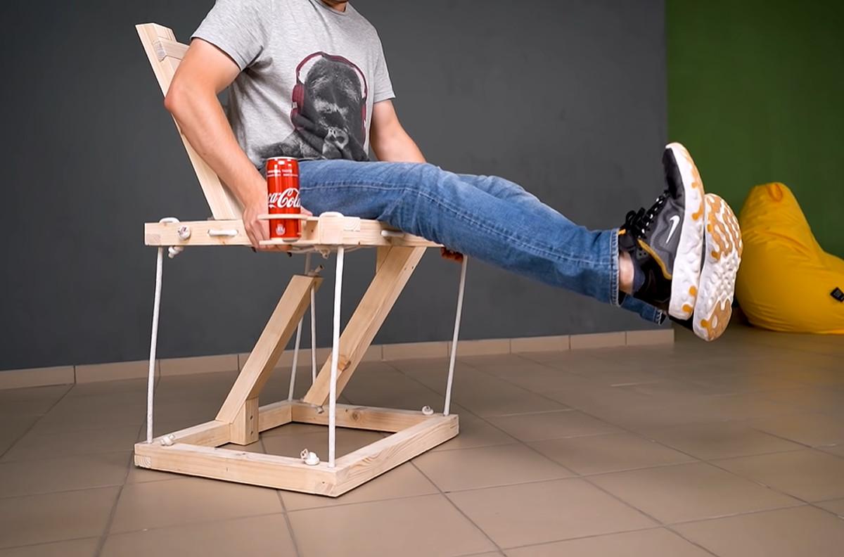 物理法則ガン無視にしか見えないのに、ちゃんと座れる椅子」が作成され ...